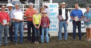 Wild Bill Hickok Rodeo 2015 20-Year Sponsors