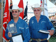 2006: Sidney Hammond & Bruce Kogler Honored for 20 Years of Service