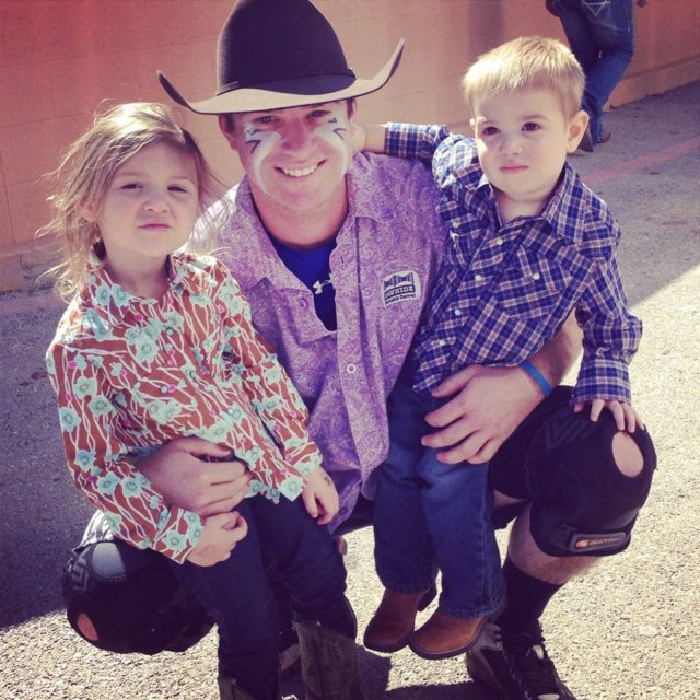 Rodeo Bullfighter Ethan McDonald
